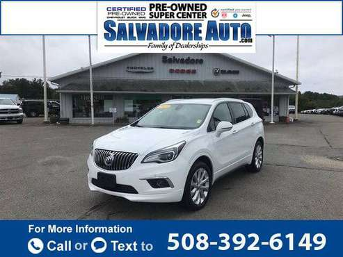 2018 Buick Envision Premium I suv Summit White for sale in Gardner, MA