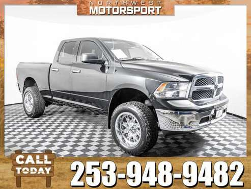 *750+ PICKUP TRUCKS* Lifted 2015 *Dodge Ram* 1500 SLT 4x4 for sale in PUYALLUP, WA