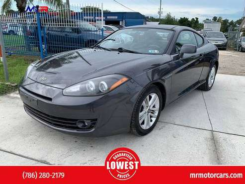 2008 Hyundai Tiburon GS Hatchback Coupe 2D - cars & trucks - by... for sale in Orlando, FL