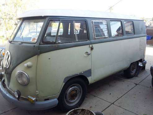 1958 VW Transporter Volkswagen trade - cars & trucks - by owner -... for sale in San Diego, CA