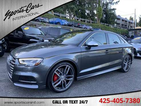 2017 Audi S3 2.0T quattro Premium Plus - cars & trucks - by dealer -... for sale in Bothell, WA