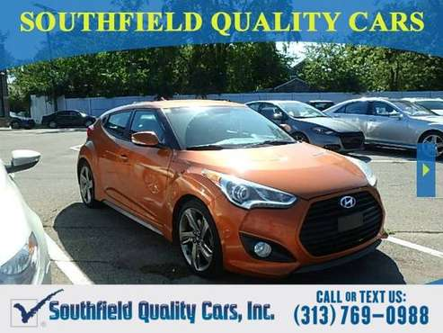 2013 Hyundai Veloster TURBO Coupe Veloster Hyundai for sale in Detroit, MI