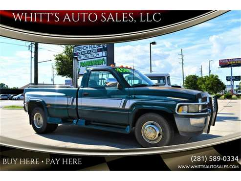 1996 Dodge Ram 3500 for sale in Houston, TX