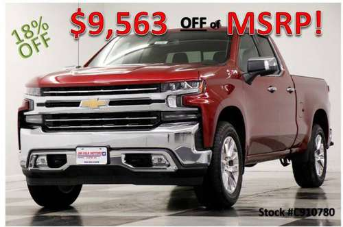 NEW $7063 OFF MSRP! *SILVERADO 1500 LTZ DOUBLE CAB 4X4* 2019 Chevy for sale in Clinton, MO