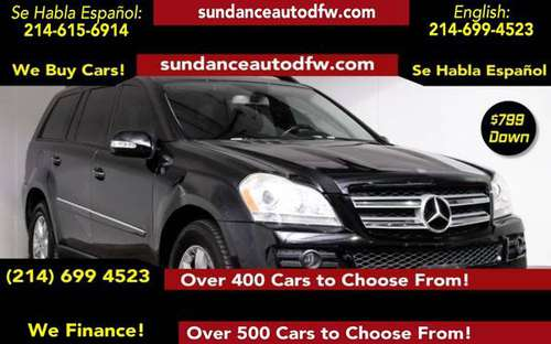 2008 Mercedes-Benz GL450 SUV -Guaranteed Approval! for sale in Addison, TX