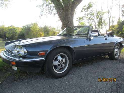 1989 Jaguar XJS V12 Convertible Low Miles for sale in Coal Township, PA
