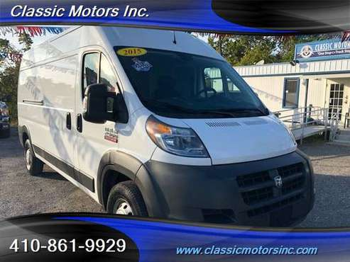 2015 Ram ProMaster 2500 159 WB 1-OWNER for sale in Westminster, NY