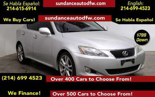 2007 Lexus IS 250 -Guaranteed Approval! for sale in Addison, TX
