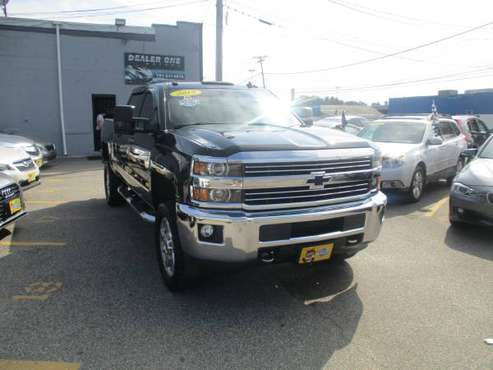 2015 Chevy Silverado 2500HD LT Crew Cab for sale in Malden, MA