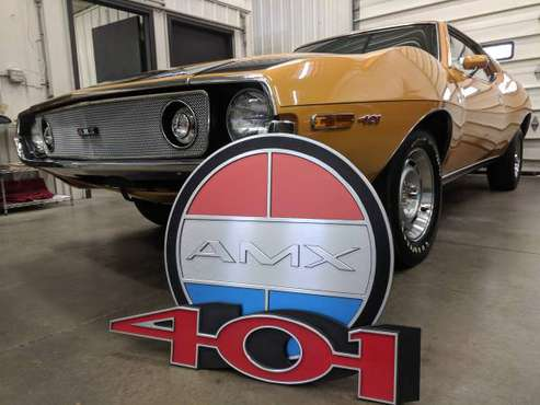 1971 AMX 401 GO RAM AIR 4 SPEED - AMC JAVELIN for sale in Hamilton, MI