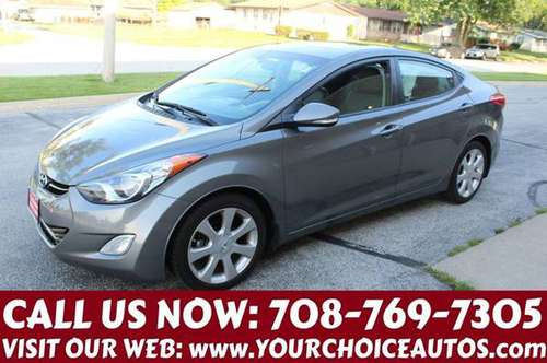 2013 *HYUNDAI *ELANTRA LIMITED*87K 1OWNER LEATHER SUNROOF 274787 for sale in posen, IL