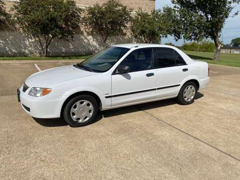 2001 Mazda Protege DX 1 owner! Low Miles Great MPG for sale in Wellborn, TX