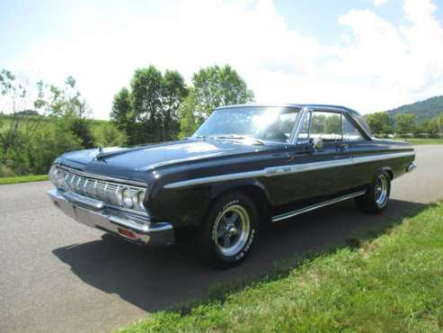 1964 Plymouth Sport Fury 383 H.P. 4 Speed Bucket Seats & Console Nice for sale in Madison, PA