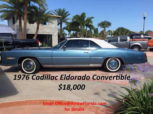 1976 Cadillac El Dorado Convertible for sale in Daytona Beach, GA