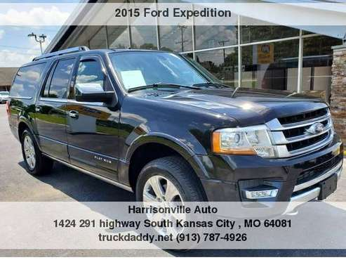 2015 Ford Expedition EL 4WD 4dr Platinum Over 180 Vehicles for sale in Lees Summit, MO