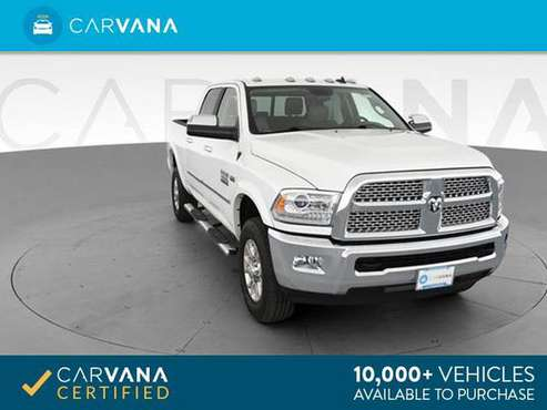2014 Ram 3500 Crew Cab Laramie Pickup 4D 6 1/3 ft pickup White - for sale in Cleveland, OH