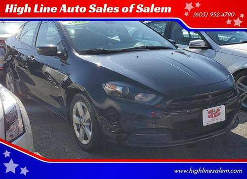 2016 Dodge Dart SXT 4dr Sedan EVERYONE IS APPROVED! for sale in Salem, MA