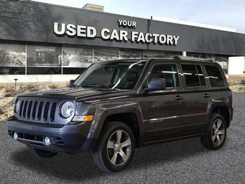 2016 Jeep Patriot High Altitude 4x4 4dr SUV for sale in 48433, MI