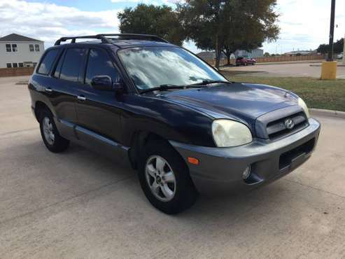 2005 Hyundai Santa Fe 133k Leather, COLD AC 🥶 for sale in Austin, TX