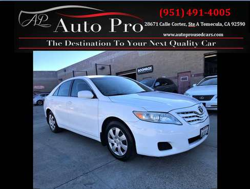 ***2011 TOYOTA CAMRY LE CLEAN TITLE & CARFAX*** - cars & trucks - by... for sale in Temecula, CA