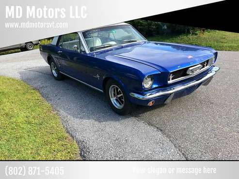 1966 FORD MUSTANG AUTOMATIC for sale in Williston, VT