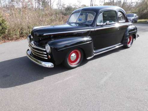 1948 FORD COUPE 350 A/C 700 R4 - cars & trucks - by owner - vehicle... for sale in Branford, CT
