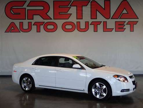 2009 Chevrolet Malibu LT1 4dr Sedan, White for sale in Gretna, NE