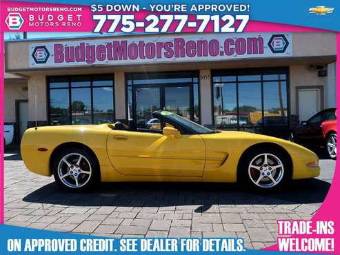 2002 Chevrolet Corvette - cars & trucks - by dealer - vehicle... for sale in Reno, NV