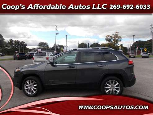 2014 Jeep Cherokee Limited 4WD for sale in Otsego, MI
