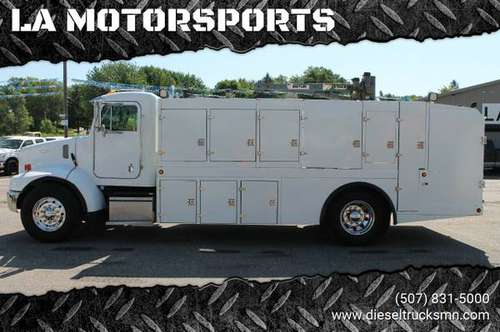 1999 PETERBILT 330 MECHANIC SERVICE LUBE TRUCK HEAVY SPEC CAT DIESEL for sale in WINDOM, MN