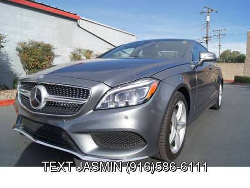 2016 Mercedes-Benz CLS CLS 550 ONLY 18K MILES CLS550 AMG BAD CREDIT... for sale in Carmichael, CA