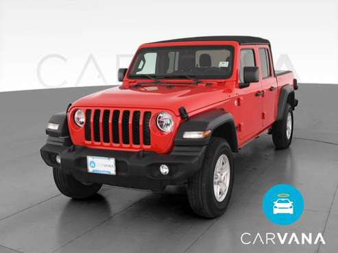 2020 Jeep Gladiator Sport Pickup 4D 5 ft pickup Red - FINANCE ONLINE... for sale in San Bruno, CA
