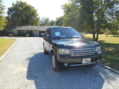 2011 RANGE ROVER SUPERCHARGED for sale in Inola, OK