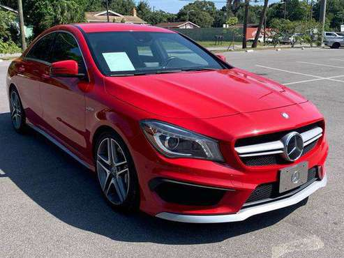 2014 Mercedes-Benz CLA CLA 45 AMG AWD 4MATIC 4dr Sedan 100% CREDIT... for sale in TAMPA, FL