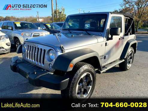 2014 Jeep Wrangler Sport 4WD ~FINANCE EVERYONE~* - cars & trucks -... for sale in Mooresville, NC