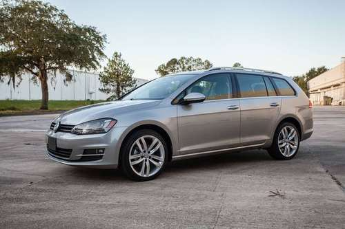 2015 Volkswagen Golf SportWagen TDI SEL RARE DIESEL WARRANTY for sale in Orlando, FL