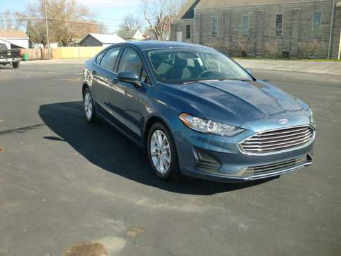 2019 Ford Fusion SE - cars & trucks - by dealer - vehicle automotive... for sale in New Castle, IN. 47362, IN