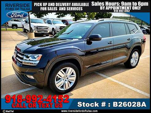 2019 Volkswagen Atlas 3.6L V6 SE w/Technology -EZ FINANCING -LOW... for sale in Tulsa, OK