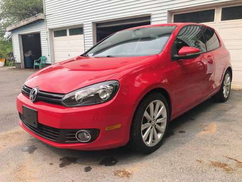 2013 VW Golf TDI Rare 2-Door 6sp Shiftable Auto Only 36k! for sale in Boonville, NY