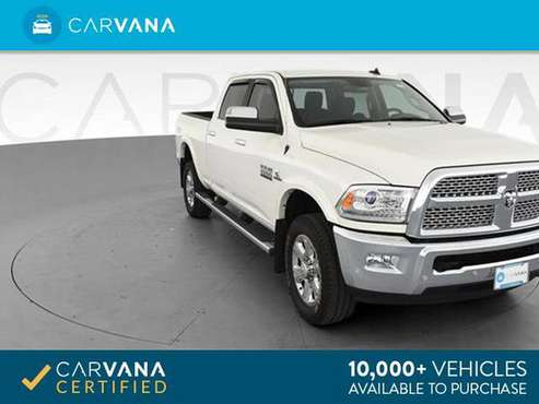 2018 Ram 2500 Crew Cab Laramie Pickup 4D 6 1/3 ft pickup White - for sale in Springfield, MA