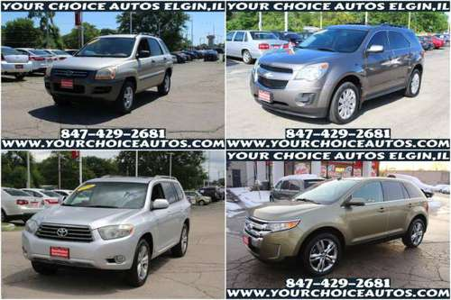 08 KIA SPORTAGE / 11 CHEVY EQUINOX /08 TOYOTA HIGHLANDER /13 FORD... for sale in Elgin, IL