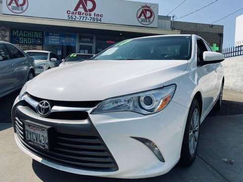 2017 Toyota Camry LE 4dr Sedan - cars & trucks - by dealer - vehicle... for sale in Whittier, CA