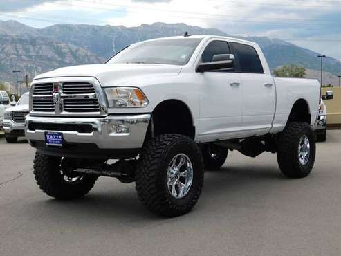 2016 *Ram* *2500* *SLT* Bright White Clearcoat for sale in American Fork, UT