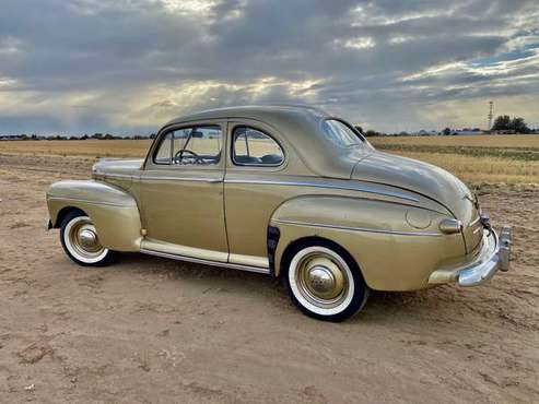 1946 Ford Coupe Super Deluxe - cars & trucks - by owner - vehicle... for sale in clearfield, UT