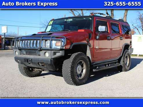 2004 HUMMER H2 Sport Utility for sale in SAN ANGELO, TX