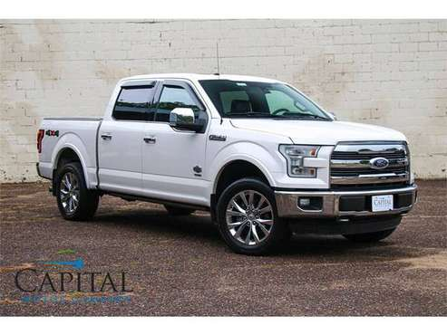 Incredible ECOBOOST King Ranch F-150 SuperCrew 4x4 Truck! for sale in Eau Claire, IA