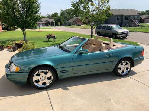 SL 500 Mercedes convertible for sale in Kechi, KS