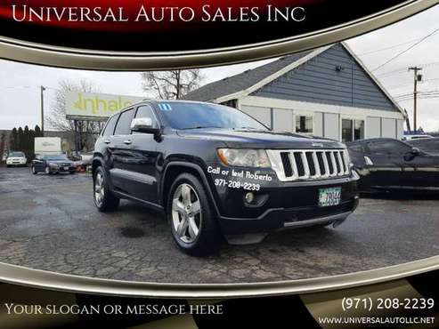 2011 Jeep Grand Cherokee Overland Summit 4x4 4dr SUV - cars & trucks... for sale in Salem, OR