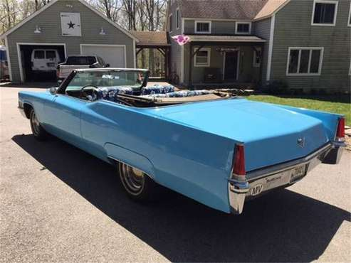 1969 Cadillac Coupe DeVille for sale in Cadillac, MI