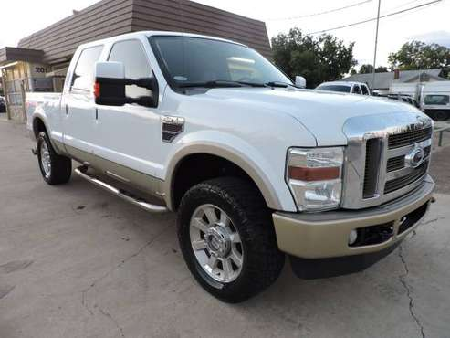 "2008 FORD F250 DIESEL 4X4 KING RANCH CREW CAB ""RUNS AND DRIVES GREAT"" for sale in Arlington, TX"